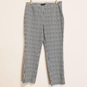 Lafayette 148 New York Stanton Ankle Crop Pants 10